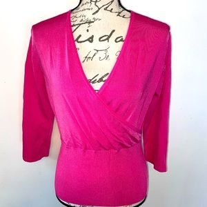 ♦️NWT Poppy Pink Crossover Top